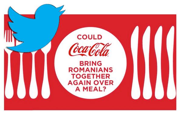 Coca-Cola пригласила людей поужинать вместе