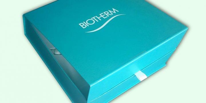 Разработка дизайна и производство пресс-кита для «BIOTHERM»