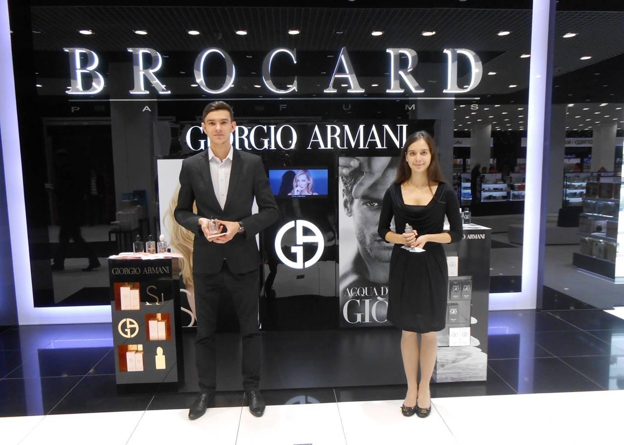 Спреинг легендарных ароматов Giorgio Armani