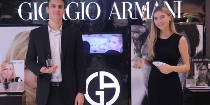 Презентация ароматов от Giorgio Armani