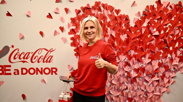 Love is… День донора з Coca-Cola