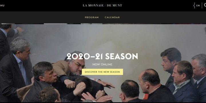 Новий сезон Королівського театру Бельгії рекламують бійками у Верховній Раді