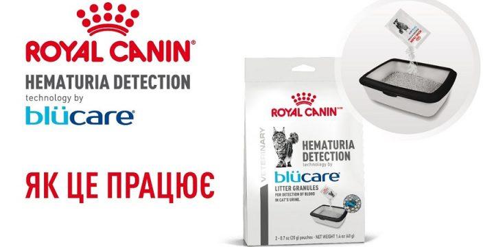 Тест Royal Canin Hematuria Detection с Технологией Blücare