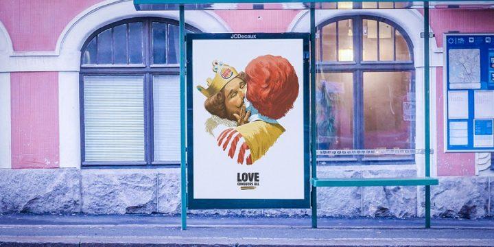 Burger King заявил о своей любви к McDonald's в честь ЛГБТ-недели в Финляндии