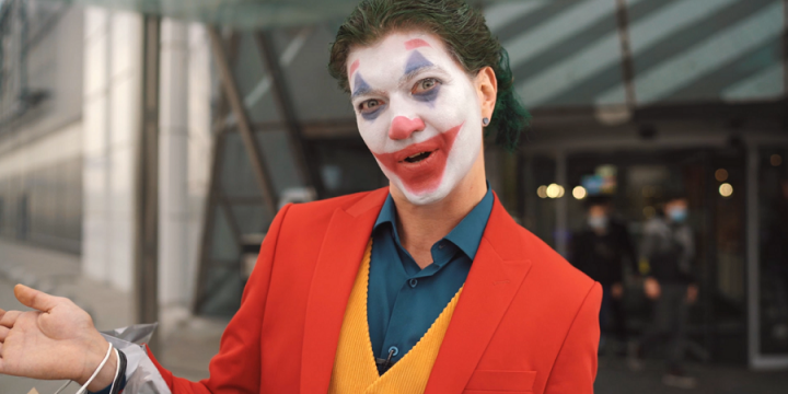 Джокер в Blockbuster Mall!
