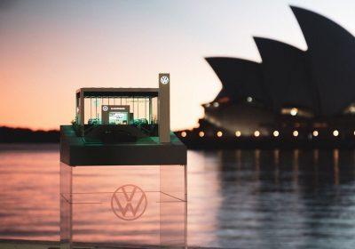 Volkswagen відкрив найменший у світі автосалон