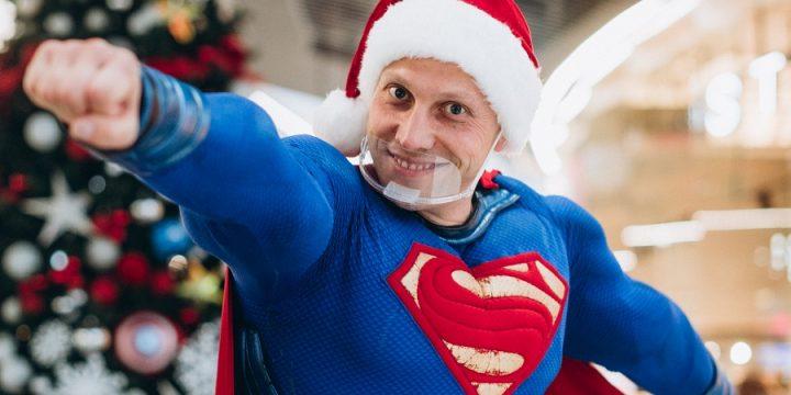 Супер Санта спешит на помощь!