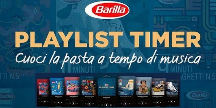 Barilla создала плейлисты для Spotify для идеального приготовления пасты