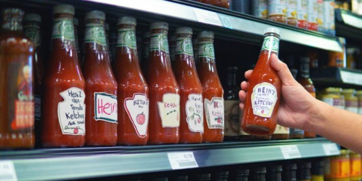 Людей попросили нарисовать кетчуп и они нарисовали Heinz