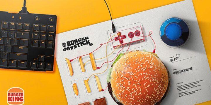 Burger King превратил гамбургер в игровой контроллер