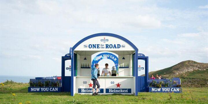 Heineken гарантирует путешественникам поддержку водного баланса благодаря барам на Изумрудном острове