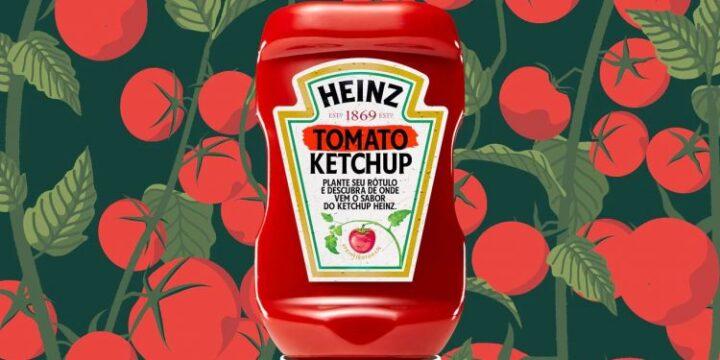Етикетка з насінням: Heinz нагадує, що кетчуп робиться з помідорів
