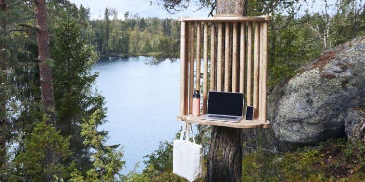 Фінське місто Лахті облаштовує в лісах місця для віддаленої роботи